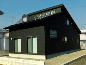 インダストリアル・スタイルの家