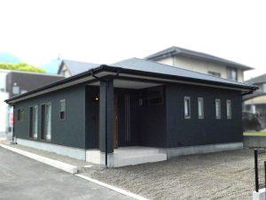 中西町B号地  新築分譲住宅 完成